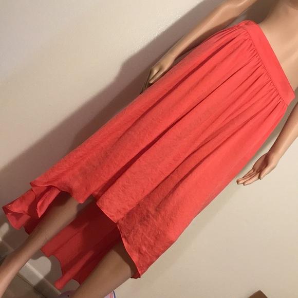 Zara Dresses & Skirts - Beautiful Polyester Zara Hi-Low Skirt!